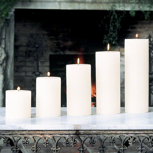 """Pillar Candle - Unscented - 4""""x4"""""""
