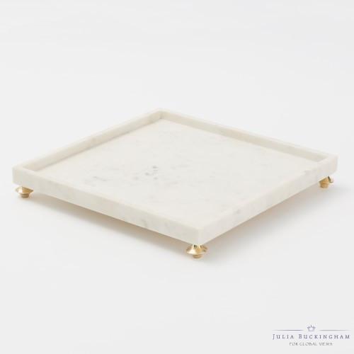 Quintessential Tray - Square - White