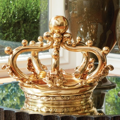 Regal Sculpture - Brass
