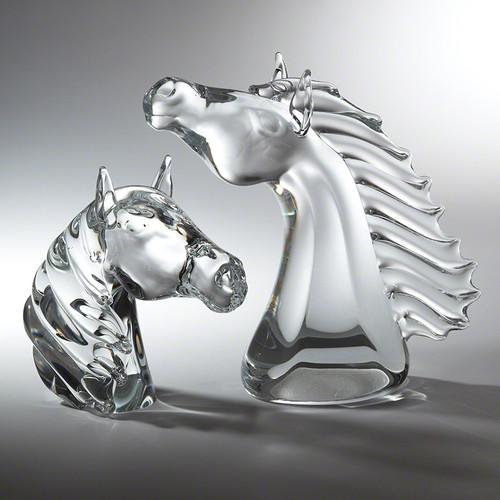 Thoroughbred Horse Head - Lg