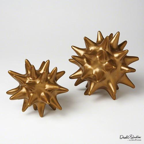 Urchin - Antique Gold - Lg