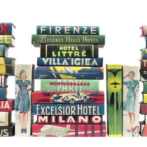 Vintage Hotel Labels