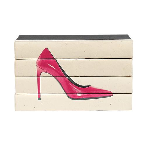 Hot Heels 4 Volume Stack - Pink Patent
