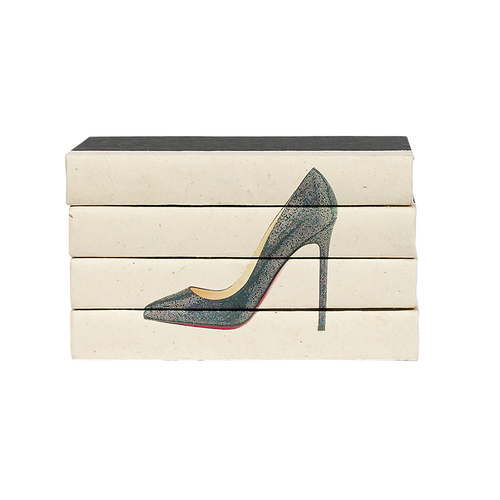 Hot Heels 4 Volume Stack - Black Sequins