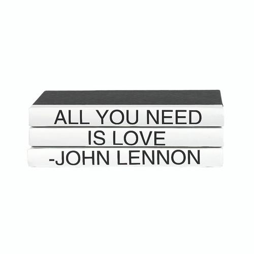 3 Vol Quotes - Lennon