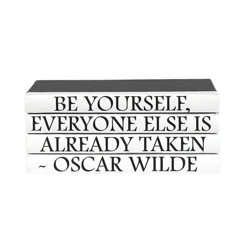 4 Vol Quotes - Wilde