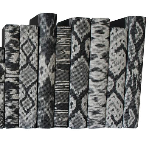 Sumatra Ikat Black and Gray