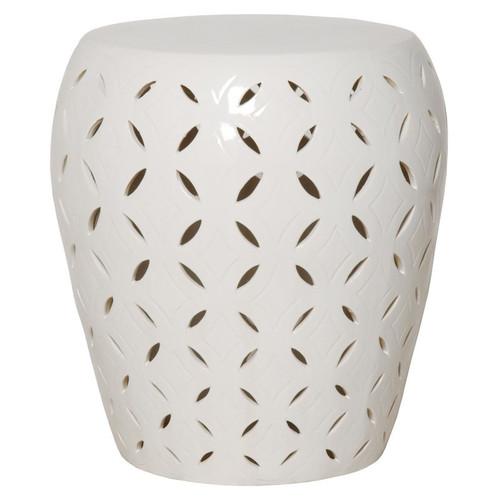 Lattice Table - White
