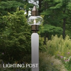 Outdoor Lighting Posts