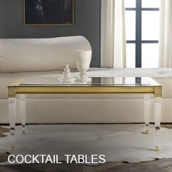 Modern History Cocktail Tables