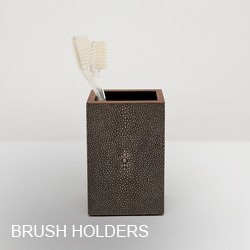 Pigeon & Poodle Brush Holders