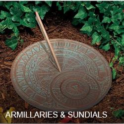 Armillaries & Sundials