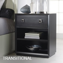 Transitional Chests & Nightstands