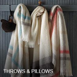 Peacock Alley Throws & Pillows