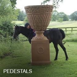 Outdoor Pedestals