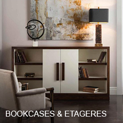 John Richard Bookcases & Etageres