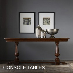 Modern History Console Table