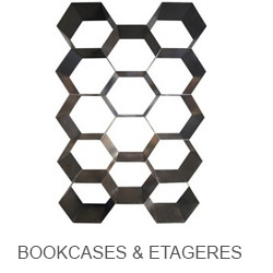 Noir Bookcases & Etageres