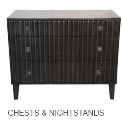 Noir Chests & Nightstands