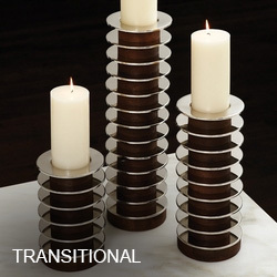 Transitional Candle Holders
