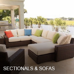 Outdoor Sectionals & Sofas