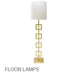 Worlds Away Floor Lamps