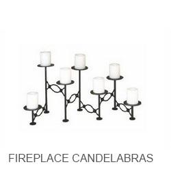 Fireplace Candelabras