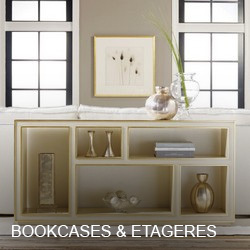 Modern History Bookcases & Etageres