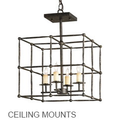 Currey & Company Ceiling Mounts