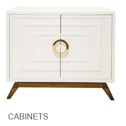 Worlds Away Cabinets