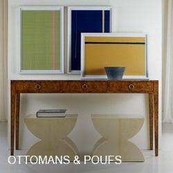 Ottomans, Stools, & Poufs