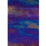 Iridized Dark Blue & White Wispy Opal