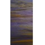 "Violet & Medium Amber with White Wispy Opal (WO705-6) - 6"" X 12"" Sheet"
