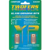 """Twofer Grinder Bits - 3/4"""""""