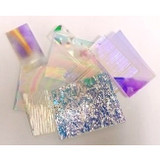 Clear Dichroic Glass Pack (COE 96) for Fused Glass