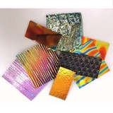 Black Dichroic Glass Pack (COE 96) for Fused Glass