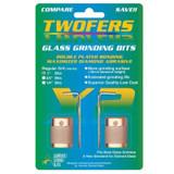 """Glass Grinder Bits - 1"""" Twofer Grinder Bits"""