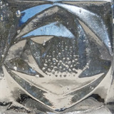 Clear Glass Rosette