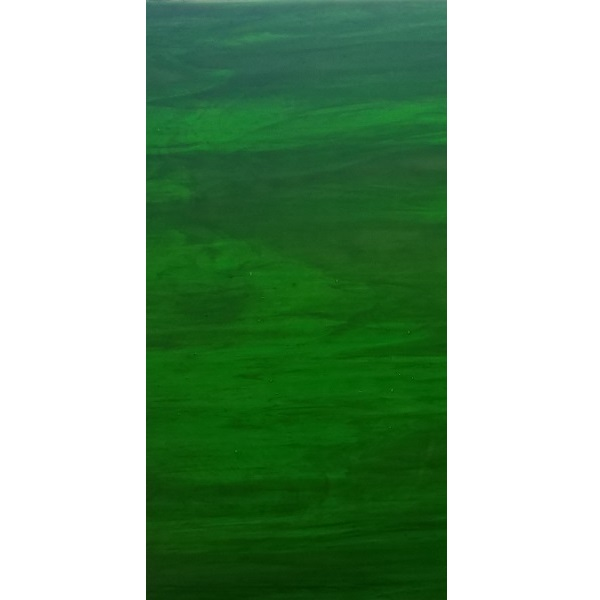 Dark Emerald Green & White Opal