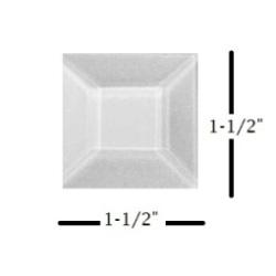 "1-1/2"" x 1-1/2"" Square Glass Bevel"