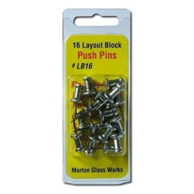 Pins for Morton Layout Blocks