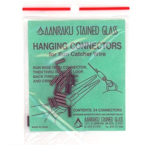 Hanging Connectors for Stained Glass