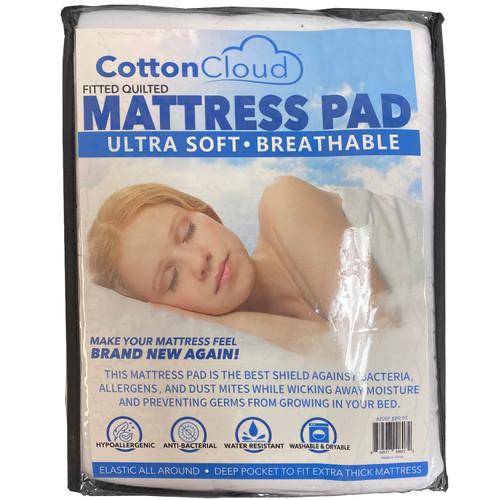Cotton Cloud Ultra Soft Mattress pad