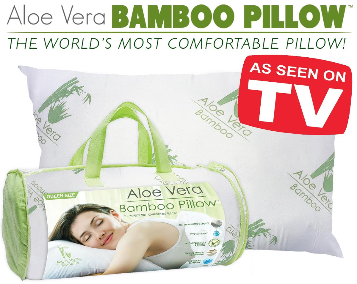 aloe bamboo pillow