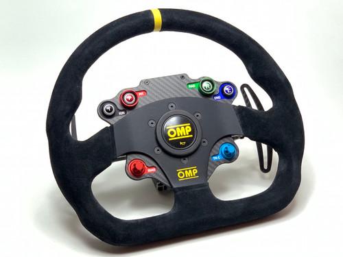 OMP SBT GT / GTE style sim racing wireless steering wheel