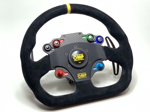 OMP SBT GT / GTE style sim racing wireless steering wheel
