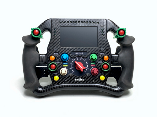 Indy19C formula style sim racing steering wheel