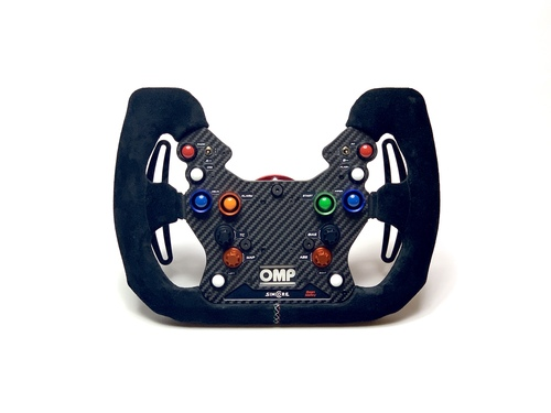 OMP GT-WS wireless simucube compatible sim racing steering wheel