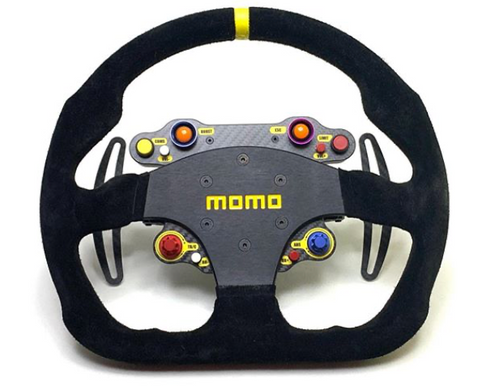 of STD24-WS/MOD30 Simucube compatible wireless sim racing steering wheel