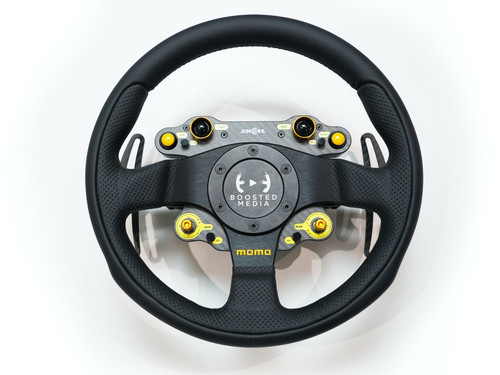 STD24-WS/Team300 Simucube compatible wireless sim racing steering wheel
